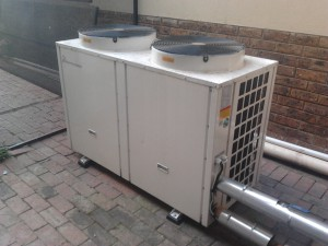 commercial heat pumps system
