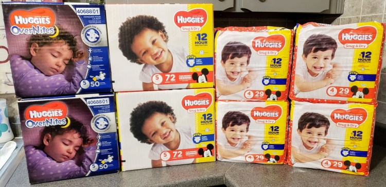 Huggies Diapers