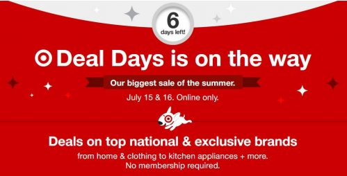 Target early access deal days july 2019