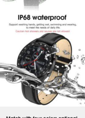 gx smartwatch is waterproof