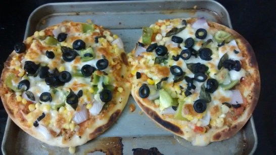 homemade pizza : we got all the recipes from online