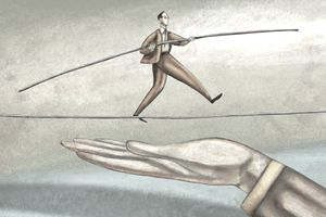 Early retirement corpus is a safety net like Tight rope walking with safety net