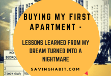 Buying my first apartment