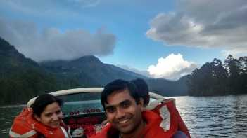 Boat ride in Munnar