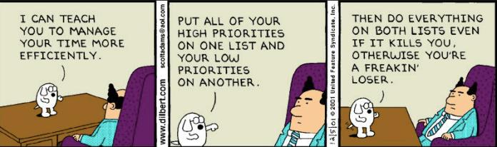 Dilbert time management