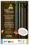 fernie lantern festival poster, promotional material, website