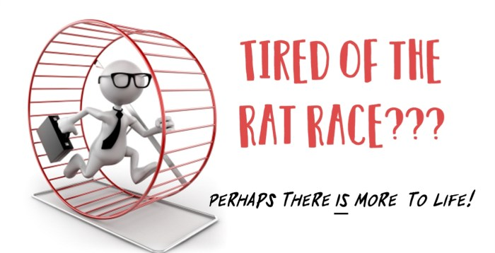 Rat Race @ Savings4Freedom