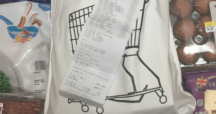 Cutting your Shopping Bill in Half: 7 Tips to Help You Save £30 a Week