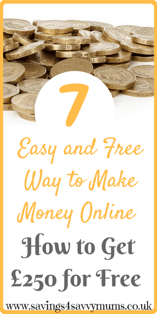 Do you want to make £250? Just by current account switching, you could make yourself money and save a massive £92 a year by Laura at Savings 4 Savvy Mums. #MakeMoneyOnline #MakeMoney
