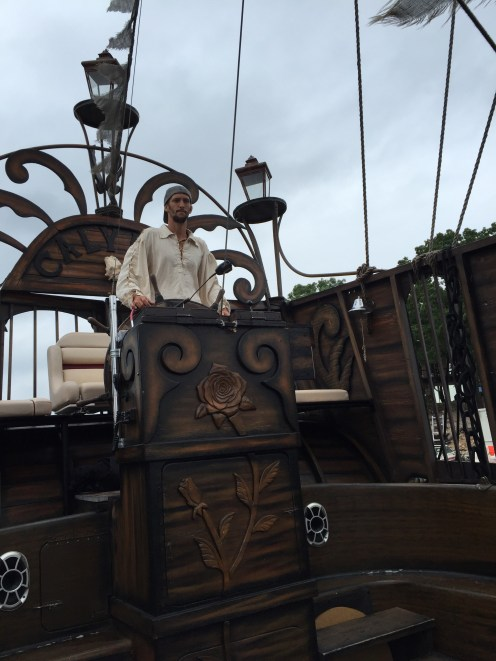 Our navigator, Pirate Tyler
