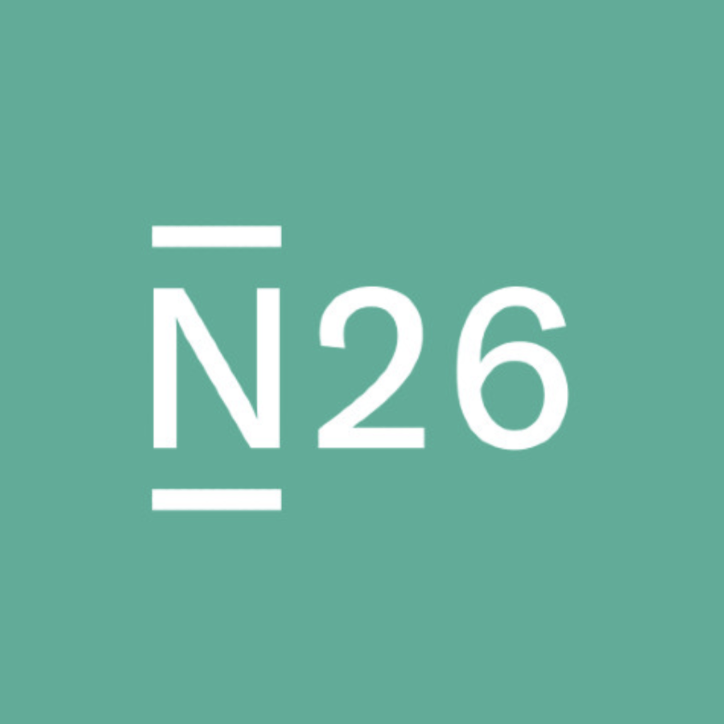 N26 Bank Logo @ Savings4Freedom