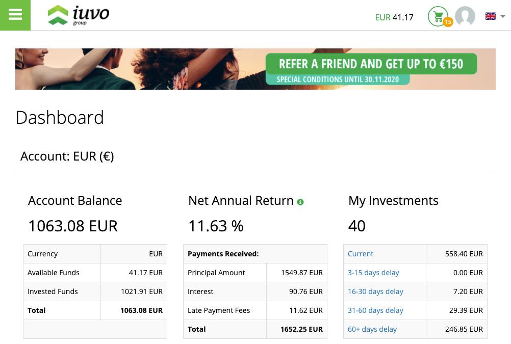IUVO Group Update SavingsForFreedom October 2020
