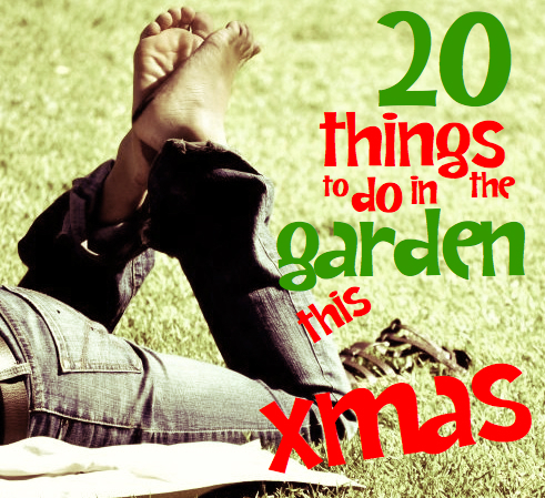 Summer activities | 20 things to do in the garden this Xmas