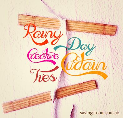 Rainy Day Creative Curtain Ties