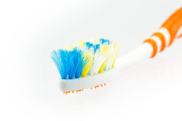 Used Toothbrush