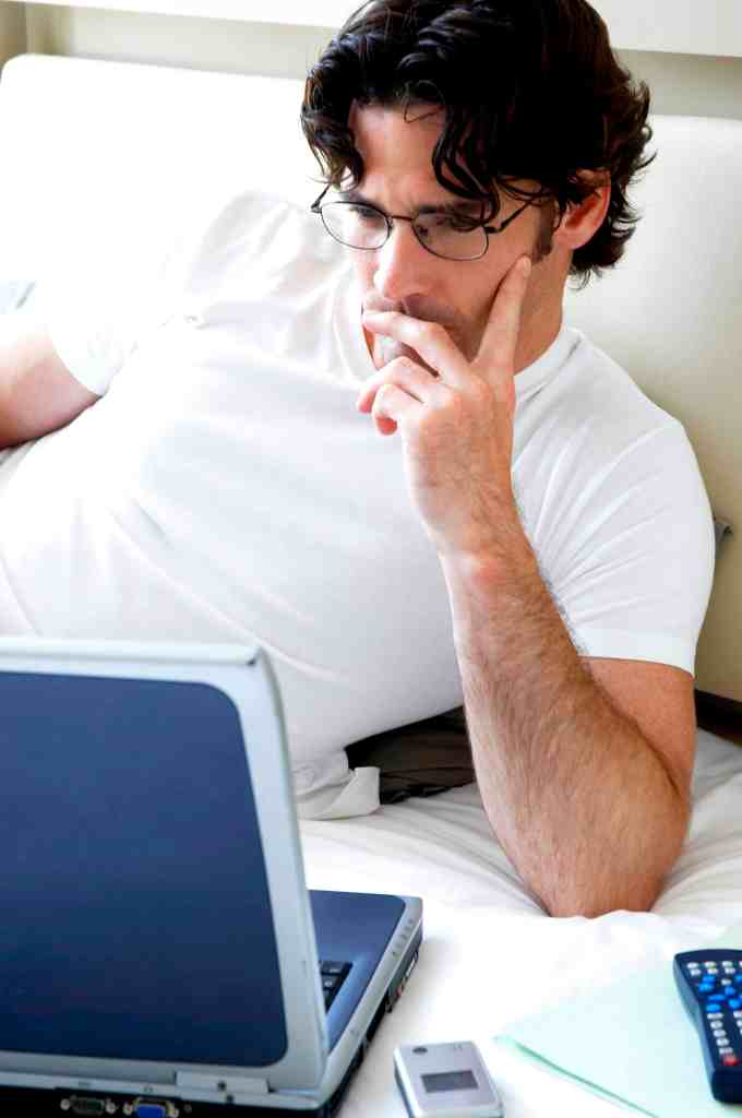 upcoming work trends - man working from home