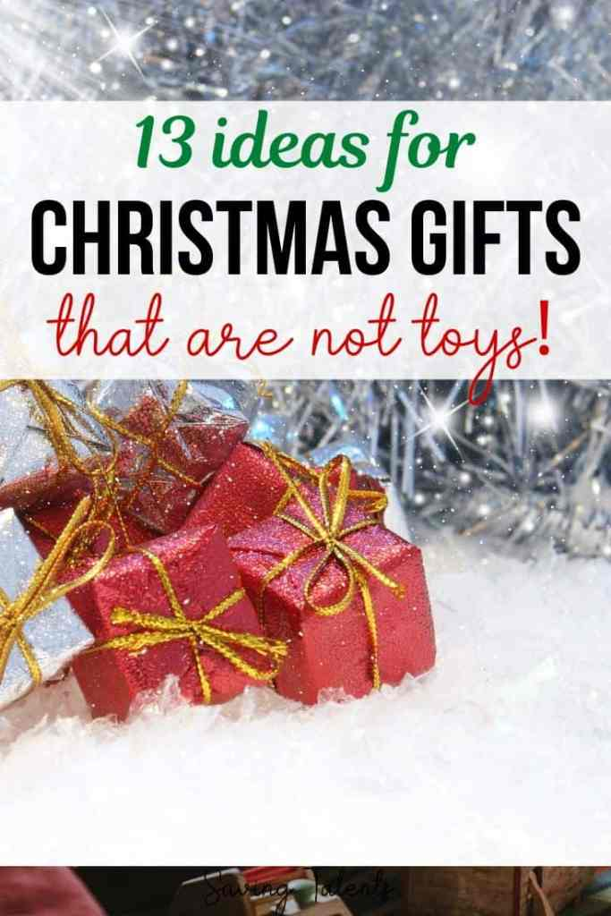 Christmas Gifts from Grandparents to Kids that Aren't Toys