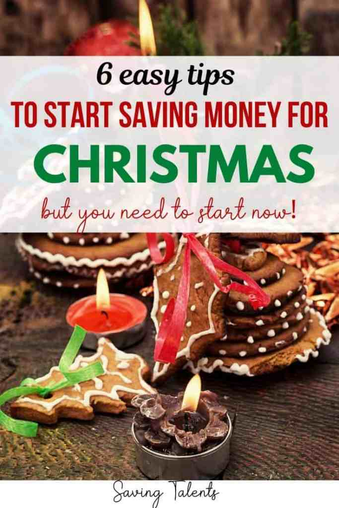 prepare financially for Christmas
