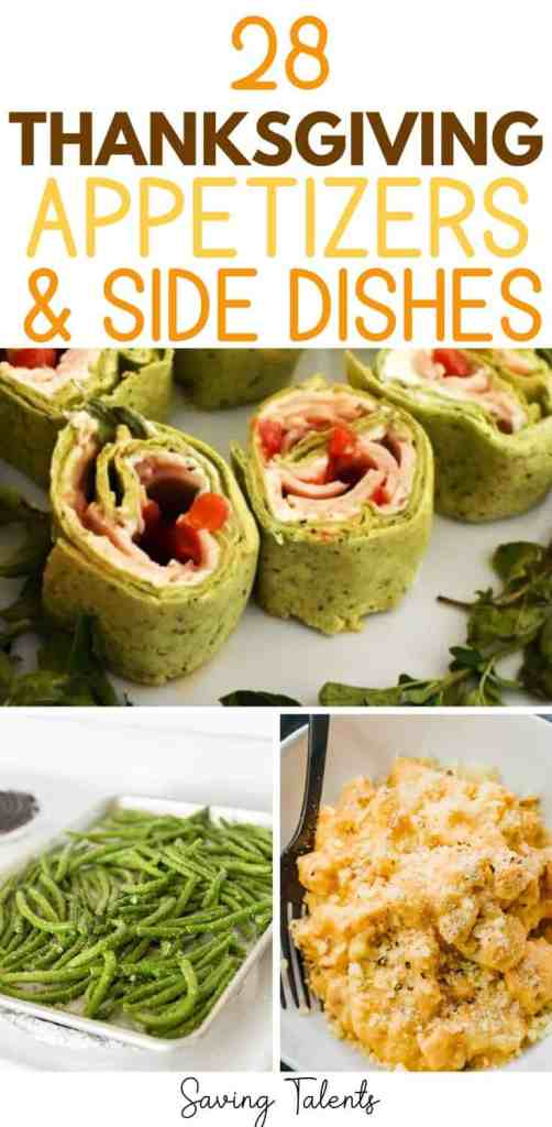 28 Thanksgiving Appetizers & Side Dishes