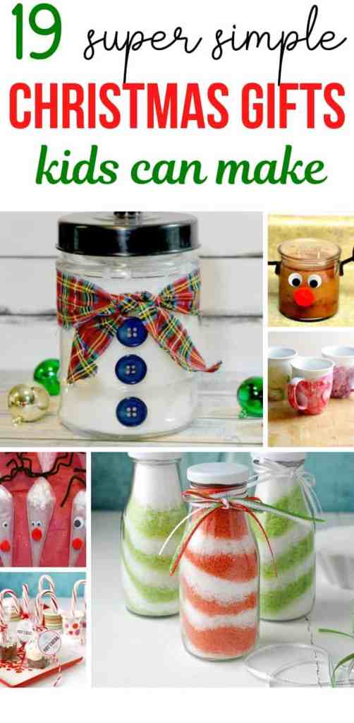 19 Easy Christmas Gifts that Kids Can Do