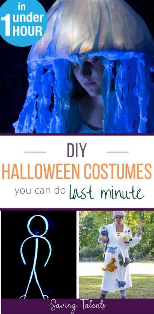 Last Minute DIY Halloween Costumes for Kids