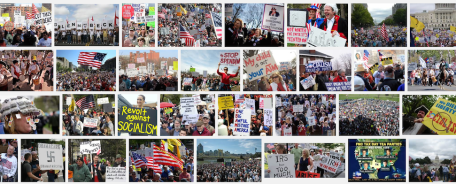 tea party protests google srch