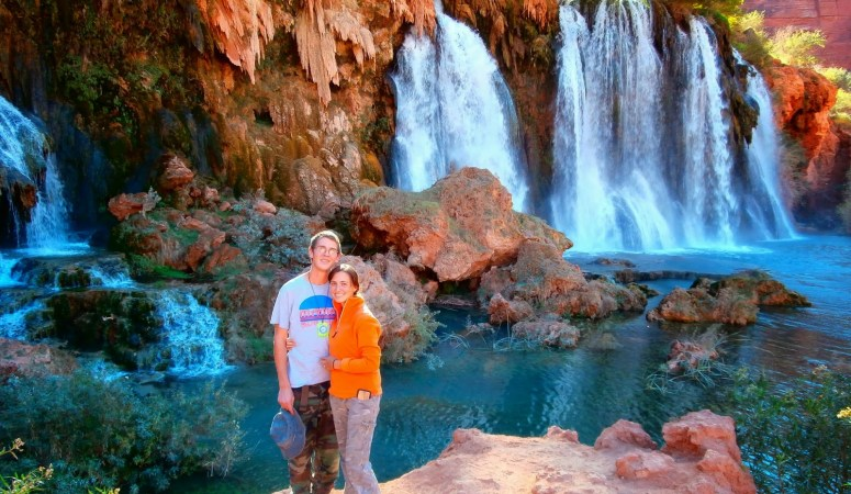 Hiking to Supai Arizona