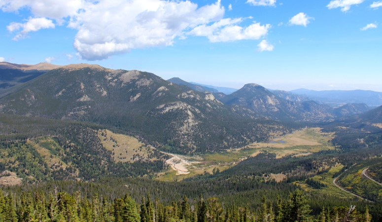 Rocky Mountain and Lake Grandby