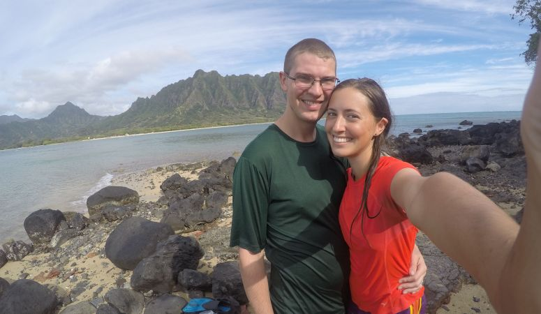 Swimming to Chinaman's Hat