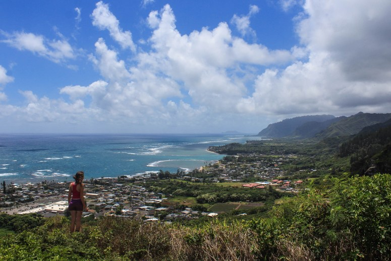 oahu hike on our fifth anniversary