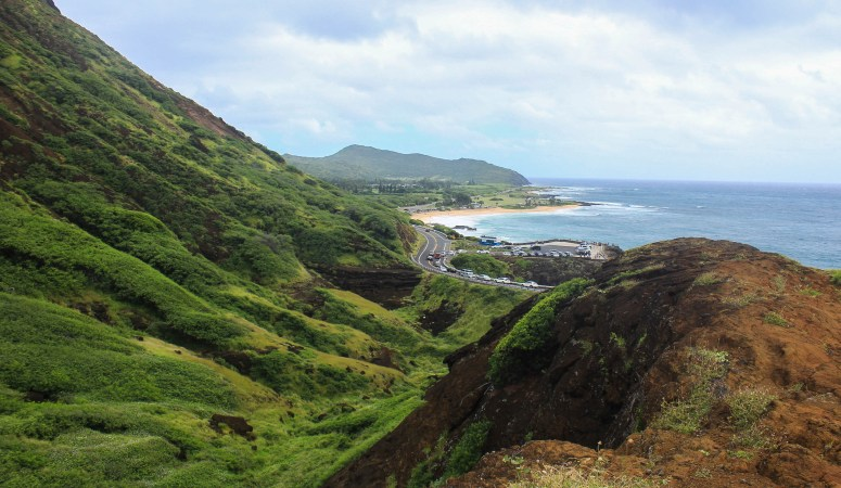 Hiking the Koko Crater Arch Trail