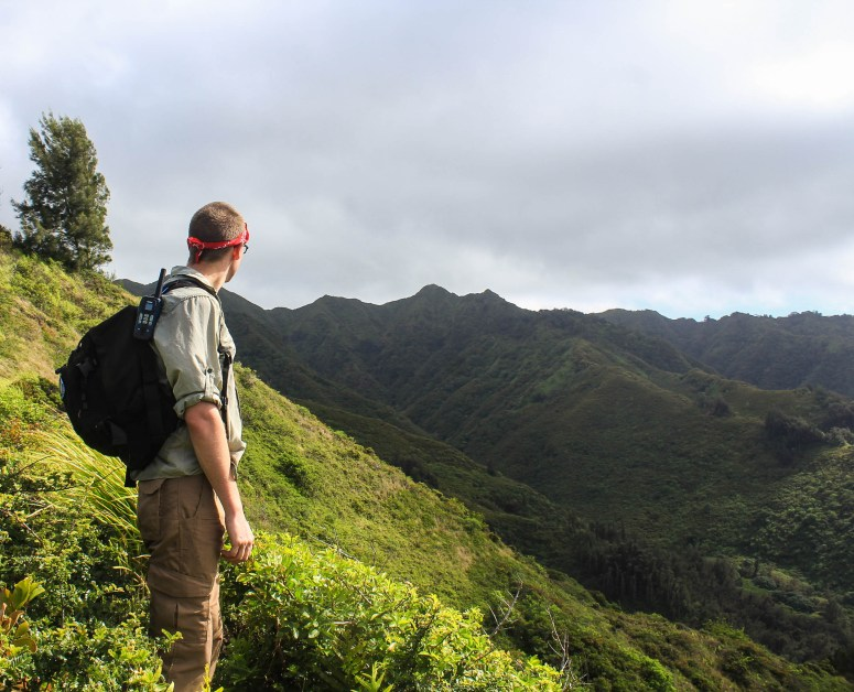 hiking kulepeamoa ridge loop trail challenging beautiful oahu hawaii hike ko'olau mountain summit ridge trail