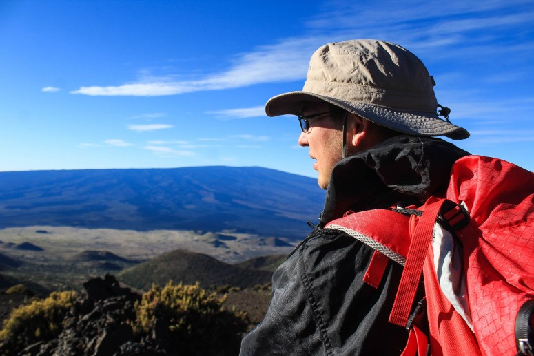 Hiking Mauna Kea on the Big Island of Hawaii