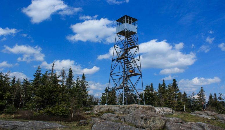 St Regis Mountain Fire Tower