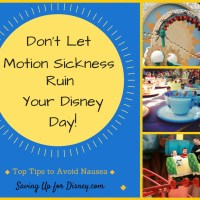 Don't Let Motion Sickness Ruin Your Disney Day - Top Tips for Avoiding Nausea