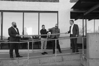 Ribbon Cutting at New Savion Headquarters
