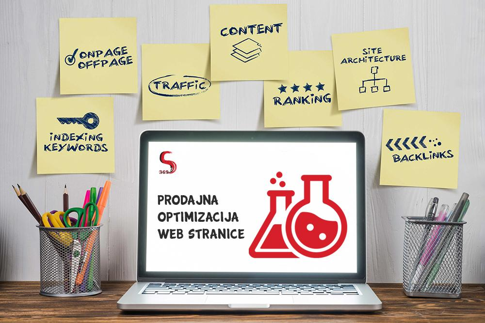 Prodajna optimizacija web stranice - CRO