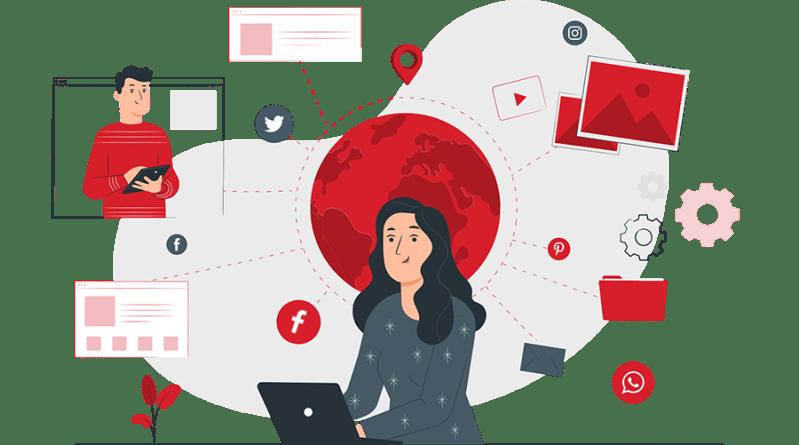 Vođenje društvenih mreža i e-mail marketing