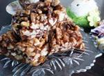 Caramelized dried fruit
