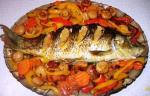 CARP with vegetables