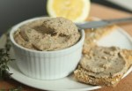 Mackerel Pate, cheese and walnuts