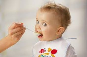 Mashed vegetables for child from 6 months