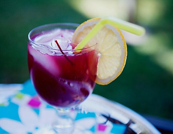 Margarita non alcoolica cu afine