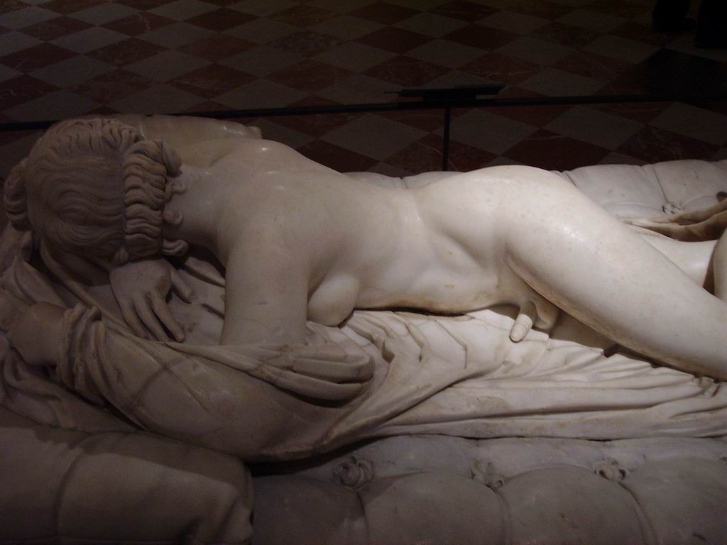 Image result for hermaphrodite statue Louvre