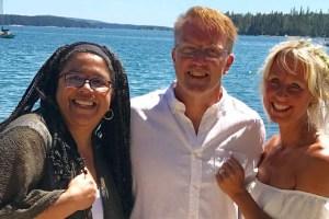 Claire, David & Morgan
