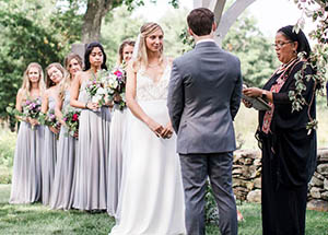 a wedding by Claire