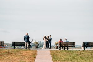 Elopement in park