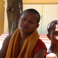 In Cambodia - social hierarchy is important