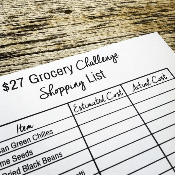 start of the 2014 27 challenge
