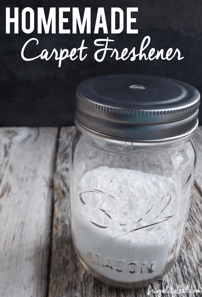 Homemade Carpet Freshener Recipe